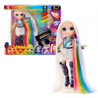 LOL lėlytė Amaya Raine grožio salone - kirpykloje 5in1   Rainbow High   MGA 569329E7C