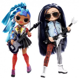 LOL 2 lėlės su muzika   OMG Remix Rocker Boi and Punk Grrrl   MGA 567288E7C