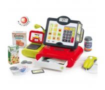 Vaikiškas elektroninis kasos aparatas su priedais 25 vnt | Raudonas | Smoby 350102