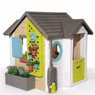 Sodininko žaidimų namelis su priedais 21 vnt. | Garden House | Smoby 810405