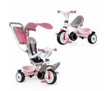 Triratukas - rožinis   Baby Balade Plus   Smoby 741401