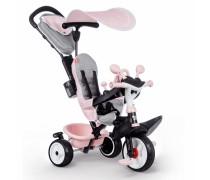 Triratukas - rožinis   Baby Driver Comfort plus   Smoby 741501