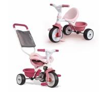Triratukas - rožinis   Be Move Comfort   Smoby 740415
