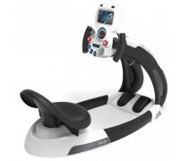 Vaikiškas interaktyvus lenktynių simuliatorius su telefono laikikliu | Space Driver | Smoby 370217