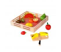 Mediniai pjaustomi vaisiai dėžutėje | Tooky TKI014