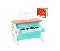 Vaikiškas medinis pianinas su knygele | Tooky TF573