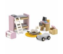 Mediniai baldai lėlių namams | Vaikų kambarys | PolarB | Viga 44036