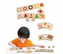 Medinis domino stalo žaidimas | Formos | Viga 44506