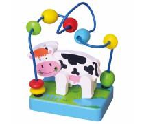 Medinis edukacinis labirintas su karvyte | Viga 59661