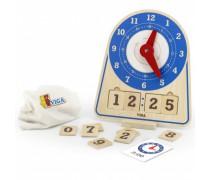 Medinis edukacinis laikrodis | Viga 44547