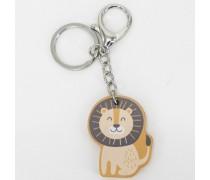 Medinis raktų pakabukas - liūtas | PolarB | Viga 44105