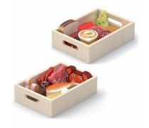 Medinis rinkinys - 2 dėžutės su maisto produktais | Viga 44525