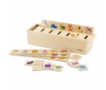 Medinis stalo žaidimas - rūšiavimas | Viga 44503