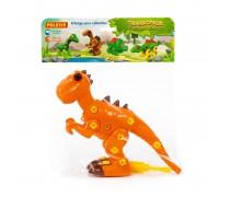 Konstruktorius 40 detalių | Dinozauras su atsuktuvu | Wader 76700