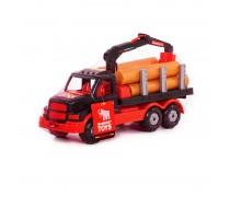 Sunkvežimis miškavežis 17,5 cm su rąstais | MAMMOET | Wader 68521