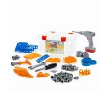Vaikiškas konstruktorius su atsuktuvu 142 detalės | Wader 55217