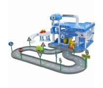 3 aukštų automobilių garažas su trasa | ARAL | Wader 40428