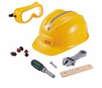 Apsauginis šalmas, akiniai ir įrankių rinkinys 9 vnt. | Woopie 31323
