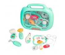 Gydytojo lagaminėlis su priedais | Šviesos ir garso efektai | Woopie 29764