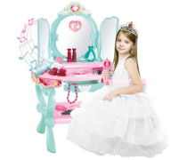 Kosmetinis staliukas su kėdute ir MP3 jungtimi | Interaktyvus | Woopie 30128