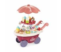 Ledų parduotuvė ant ratų su saldumynais 36 vnt | Šviesos ir garso efektai | Woopie 29993