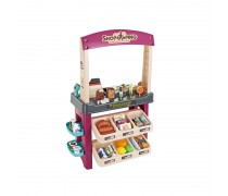 Saldumynų parduotuvė su priedais 55 vnt. | Šviesos ir garso efektai | Woopie 29856