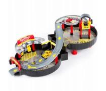 Sulankstoma mašinų trasa + 2 mašinos ir sraigtasparnis | Woopie 30432