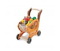 Vaikiškas pirkinių vežimėlis su priedais 42 vnt. | Woopie 29924