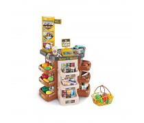 Žaislinė parduotuvė su krepšeliu ir priedais 47 vnt | Supermarketas | Woopie 29962