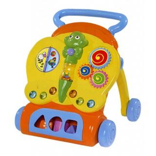 Edukacinis stumdukas vaikštukas su žaislais | Simba