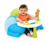 Interaktyvus mėlynas fotelis su staliuku | Cotoons | Smoby