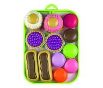 Maisto muliažai su padėklu dėžutėje | Ecoiffier