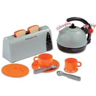 Interaktyvus žaislinis pusryčių rinkinys su virduliu | Tefal | Smoby