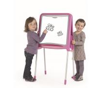 Metalinė piešimo lenta | 59 priedai | rožinė | Smoby