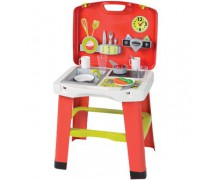 Vaikiška virtuvėlė su priedais lagamine | Smoby