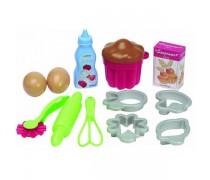 Vaikiškas kepimo formelių ir įrankių rinkinys | Ecoiffier