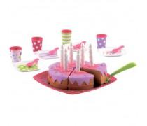 Žaislinis gimtadienio tortas su priedais   Bubble cook   Ecoiffier