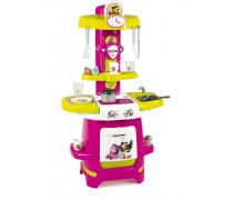 Vaikiška virtuvėlė su laikrodžiu | Maša ir lokys | Smoby 310700