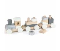 Traukiamas žaislinis medinis traukinukas | Viga 51611