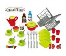 Žaislinių indų rinkinys | Ecoiffier